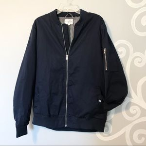 Navy Five Four bomber jacket